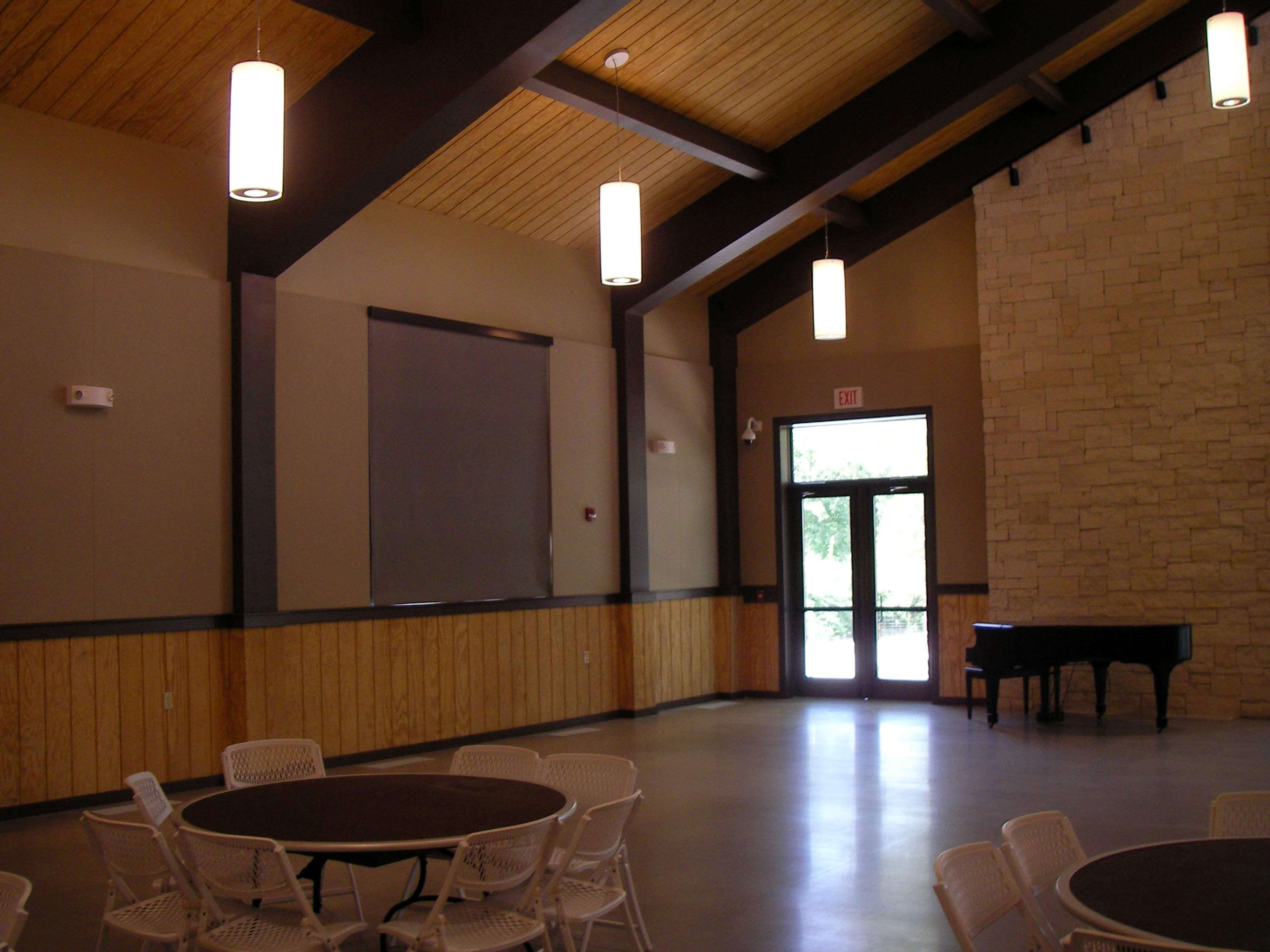 Botanica Acoustic Treatment in the Event Center
